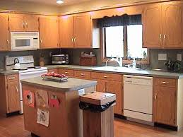 Best Color For Kitchen Cabinets 2014 by Miscellaneous Kitchen Design With Oak Cabinets Interior