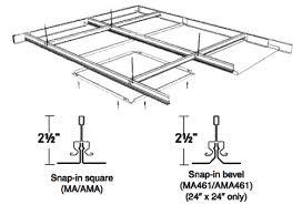rockfon planostile snap in metal panel ceiling system rockfon