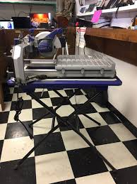 kobalt 7 in wet dry tabletop sliding tile saw w stand business