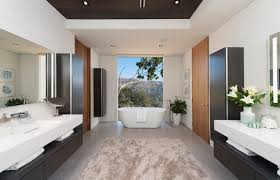 modern master suites baths whipple architects