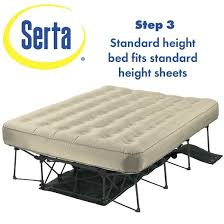 Ez Bed Inflatable Guest Bed by Serta Ez Bed Air Mattress Double High Queen Target