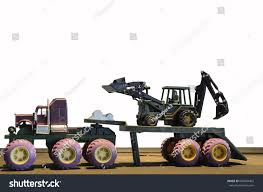 Childrens Toy Backhoe Kids Trucks Stock Photo (Edit Now) 640904452 ...