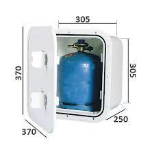rangement bouteille de gaz accessoire bateau fourgon aménagé coffre pour bouteille de gaz