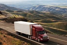 100 Eastern Truck And Trailer Commercial Truck Driving Through The High Rolling Hills Of South