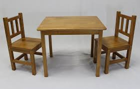 14 Wooden Toddler Table And Chair Set, Bebe Style Childrens ...