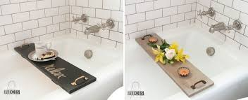 diy bathtub tray designs fun to make and great to use