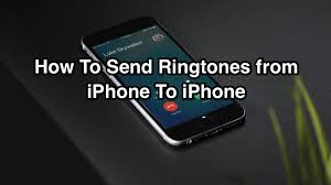 Send Ringtone iPhone To iPhone How To Transfer Ringtones from e