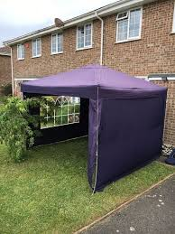 Argos 6 X 10 Shed by Argos Easy Pop Up Gazebo 3m X 3m With 3 Sides U0026 Window In