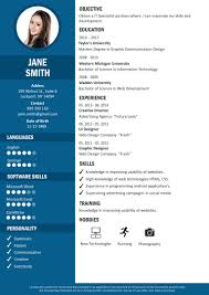 Resume Builder Templates Sample