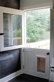 Pet Doors For Patio Screen Doors by French Patio Doors With Built In Dog Door Renovations
