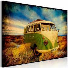 auto alt vintage retro wandbilder bilder vlies leinwand