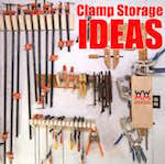 wood clamp rack woodworking plans and information at