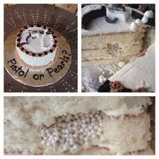 Pistol Or Pearls Gender Reveal Cake Pistols Or Pearls