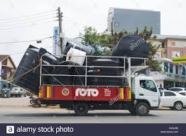 Truck Carrying High Capacity Water Tanks For Delivery, Nairobi ... 4000 Gallon Water Tank Ledwell Hot Sale Beiben Ng80b 6x4 5000 Truckbeiben Truck Niece Equipment Dta5165 Steyr 4x2 Military Water Tanker For Un Custom Trucks For Shermac Crc Contractors Rental Steel And Alinum Storage Manufacturer Superior Philippines Isuzu Vacuum Pump Sewage Septic China Sinotruk 155m3 Tanker Fuel Oilmens