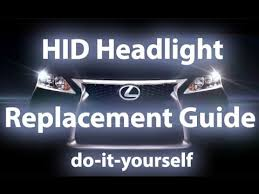 lexus hid light bulb replacement guide coming soon