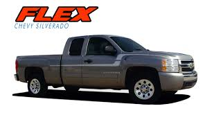 100 Truck Door Decals FLEX Silverado Stripes Silverado Silverado Vinyl
