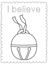 I Believe Coloring Page