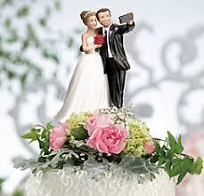 Bride Groom Selfie Wedding Cake Topper