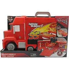 Disney Pixar Cars 3 Macks Mobile Tool Center Toy Playset Lightning ...