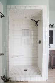 New Master Bathroom Tile | Bathrooms | Subway Tile Showers, Bathroom ... Beautiful Ways To Use Tile In Your Bathroom A Classic White Subway Designed By Our Teenage Son Glass Vintage Subway Tiles 20 Contemporary Bathroom Design Ideas Rilane 9 Bold Designs Hgtvs Decorating Design Blog Hgtv Rhrabatcom Tile Shower Designs Vintage Ideas Creative Decoration Shower For Each And Every Taste 25 Small 69 Master Remodel With 1 Large Mosiac Pan Niche House Remodel Modern Meets Traditional Styled Decorating