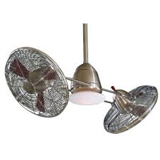 Ceiling Fans With Uplights by 42 Inch Ceiling Fan With Twin Turbofans And Light Kit F602 Bn Ch