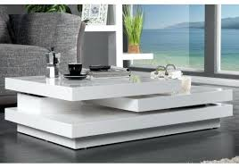 ensemble table basse et meuble tv table basse design avec poufs