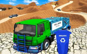 100 Rubbish Truck Offroad Garbage Simulator 2019 Game Free For Android APK