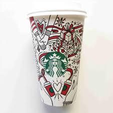 Christmas Starbucks Winter Red Cups Every Cup Designrhrefinerycom
