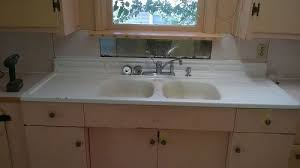 Removing 1920 S Cast Iron Kitchen Sink Hometalk Regarding Prepare 17