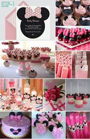 Baby Minnie Mouse Baby Shower Theme by Breathtaking Minnie Mouse Baby Shower Supplies 50 For Your Home
