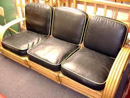 Vintage Bamboo Sofa
