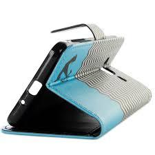 for samsung galaxy sol sky wallet case design flip stand card