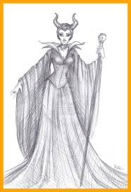 Disney Coloring Pages Villains Maleficent Fascinating Pict Of
