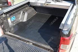 100 Rubber Truck Bed Liner Non Slip Boot Mat Ford Ranger T6 Double Cab