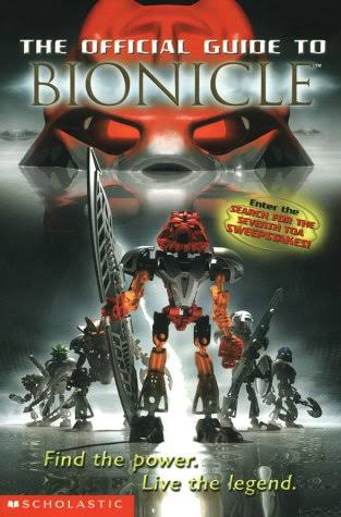 The Official Guide to Bionicle - Greg Farshtey & Catherine Hapka