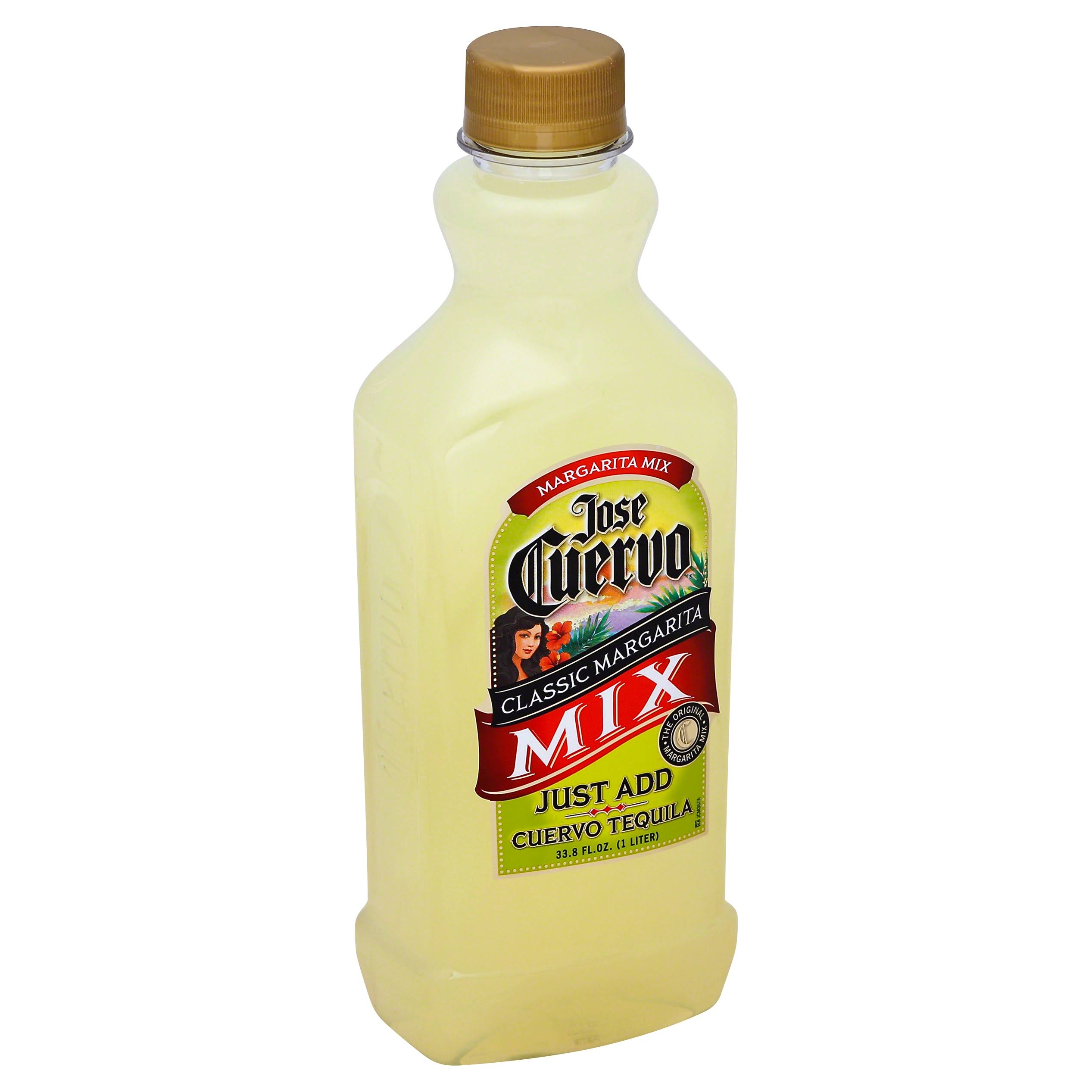 Jose Cuervo Margarita Mix - Classic Lime, 33.8oz