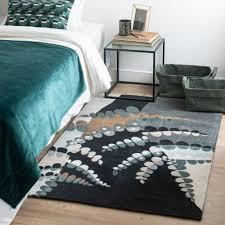 teppich in blau grün und grau 90x150 maisons du monde