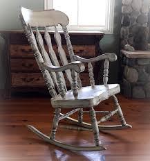 Surprising Oversized White Rocking Chair Kingdom Baby Rap ...