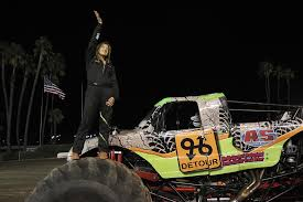 Girl 16 Crushes Competition In Monster Trucks And Math