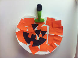 Displaying Halloween Art Projects Kids Home Decor Construction