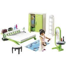 playmobil city 9271 schlafzimmer schminkspiegel funktionsfähige lichtsäule