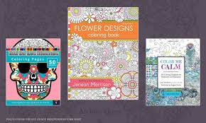 Coloring Books Made For Adults Are Popular On Amazons Bestselling List With Calming Meditative And Spiritual Themes Appeal To Looking