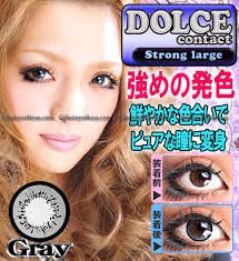 Blue Prescription Halloween Contacts by Sweet Grey Colored Contacts Pair Db21 Grey 9 99 Cheap