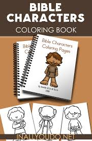 These Bible Character Coloring Pages Are Perfect For Any Sunday School Church Class Or Homeschool