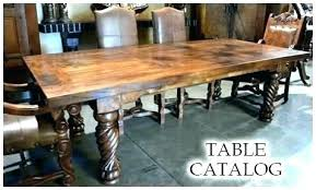 Rustic Dining Room Table In Furniture Tables Revival Definition De