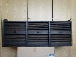 bauhaus eiche hängeschrank geschirrschrank küche rollladenschrank