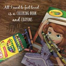 Love Is A Coloring Book And Crayons