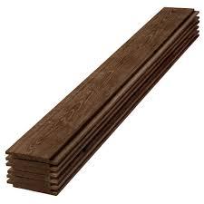 1 in x 6 in x 6 ft Barn Wood Shiplap Pine Board 6 Pack