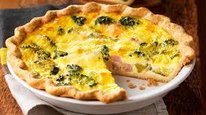 cuisiner une quiche quiche au jambon et au brocoli recettes iga fromage oeufs muscade