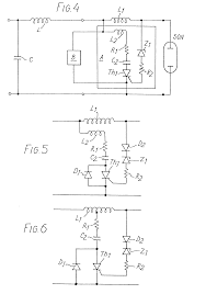 Sodium Vapor Lamp Circuit Diagram by Electric Discharge Lamp Adapter Circuits Patent 0030785